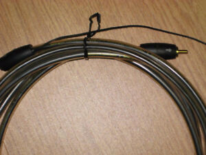 Audiophile Subwoofer signal cable by Audioquest 10 feet