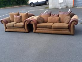 2&3 Seater Fabric Sofas