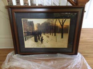 Iconic Boston Common Paining
