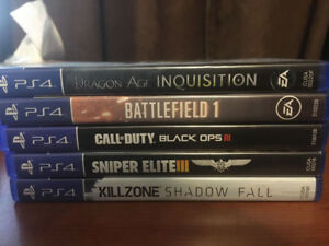 PS4 Games Assorted