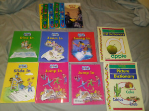Lot of 13 Early Readers School textbooks/Readers