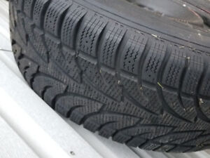 Snow tires on rims newer ford 150