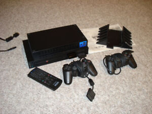 SONY PLAYSTATION 2 with 10 GAMES