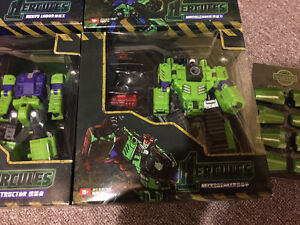 Transformers TFC Third Party Hercules / Devastator Complete Set Cambridge Kitchener Area image 6