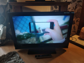 "32"" LCD Sony TV with built-in freeview and HDMI"