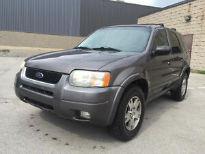 2004 Ford Escape XLT SUV, Limited Edition
