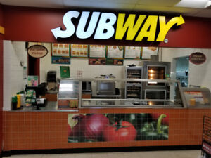 SUBWAY Franchise Business For Sale In Caledon, ON