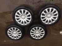 Ford wheels with trims r15