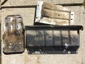 3 piece skid plate kit for a 1988-1998 Chev.