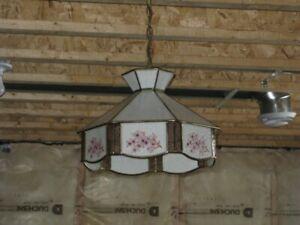 Ceiling Fixture Stained Glass