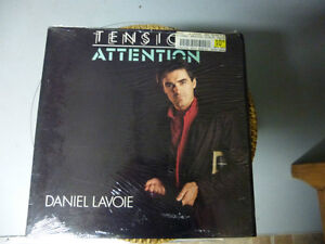 DISQUE VINYLE (DANIEL LAVOIE TENSION ATTENTION)