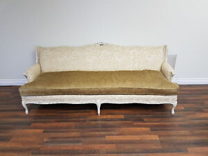 Beautiful refurbished and reupholstered couch
