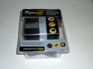 Inverter 300 for convert 12V DC to 115V Ac household electricity