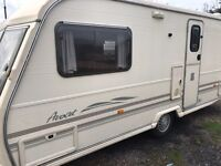 2000 year Avondale 2 berth end bathroom no damp touring caravan
