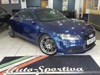 2012 Audi TT 2.0 TFSI Black Edition S Tronic Quattro 3dr Petrol blue Semi Auto