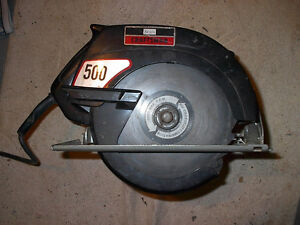 Sears Craftsman 500 7 1/4 inch Circular Saw  - 5,000 RPM