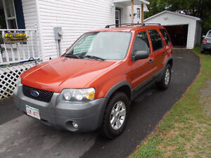 2007 Ford Escape XLT SUV, Crossover low kms