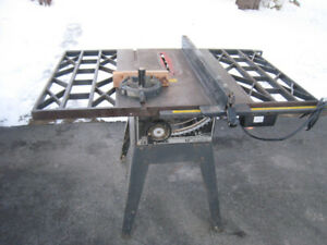 "Craftsman 10"" cast iron table saw for parts ( No Motor )"