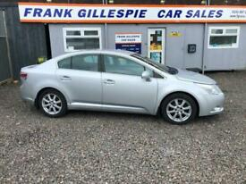 image for 2009 Toyota Avensis 2.0D-4D TR Saloon 4d 1998cc Saloon DIESEL Manual