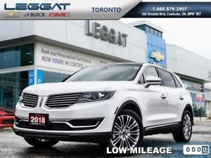2018 Lincoln MKX Reserve AWD  - Leather Seats