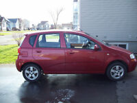 Chevrolet Aveo 2005 hatchback