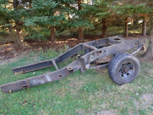 2006 Chev 2500 rear clip and axle