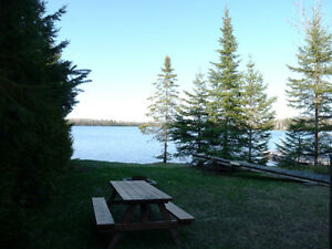 COZY 2 BEDROOM WATERFRONT!! ***  $129,900!!! *** CACHE LAKE!