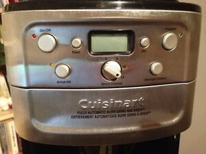 Cuisineart Coffeemaker with Grinder Strathcona County Edmonton Area image 4