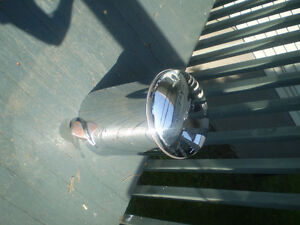 poubelle rétro en métal West Island Greater Montréal image 5