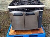 Comercial gas cooker