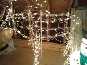 Lighted Christmas Moose