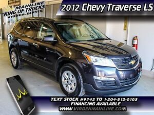 2015 Chevrolet Traverse LS  - SiriusXM - $175.52 B/W