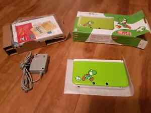 3DS XL Yoshi Limited Edition complete in box (Mint condition)