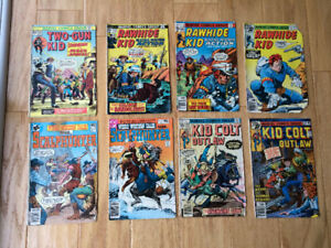 Rawhide Kid, Kid Colt Outlaw & other Western Comics (1975-80)