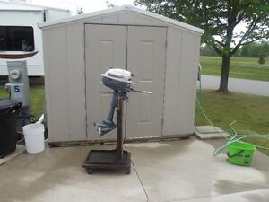 Great old 3hp Evinrude Outboard Engine