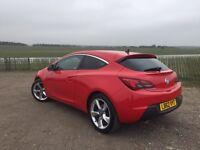 Vauxhall Astra Gtc 1.6i Turbo 16v SRi 3dr - Red