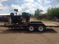 Trailer welder and table and tools