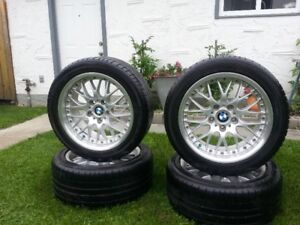 BMW /BBS / 2 PIECE COMPETITION -RACE RIMS /  TIRES /RARE
