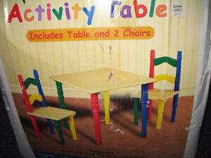 Table et Chaise por enfants / Table & Chairs for toddlers