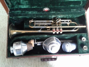 VINTAGE 1940S SUPER OLDS/BY F.E. OLDS & SON, LOS ANGELES TRUMPET