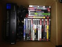 Playstation 2 w/games