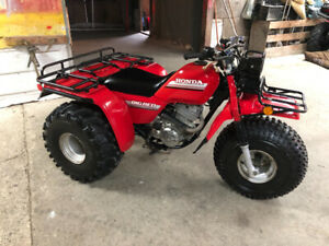 1985 Honda Big Red 250 / 1984 Honda ATC 125M