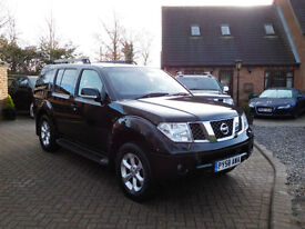 2009 Nissan Pathfinder 2.5dCi Sports Mammoth Adventure 7 Seats