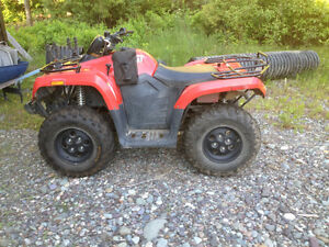 2012 Arctic cat 400 4x4