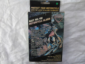 Nady MA-100 Motorcycle Alarm New in the box.
