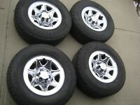 "NEW GMC 1500 Sierra Yukon 17"" Rims Bridgestone Tires & TPMS"