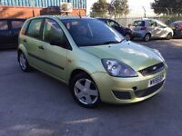 2006/55 FORD FIESTA 1.6 AUTOMATIC # 12 MONTHS MOT # EXCELLENT CONDITION # GENUINE LOW MILES #CAT C