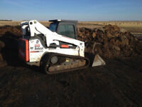 Skidsteer w/operator for hire