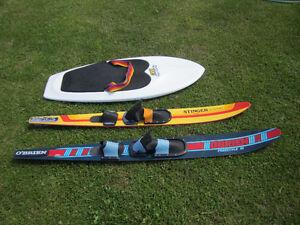 Slalom Skis old school water fun