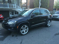 2012 Volkswagen Tiguan 55000 KM HighLine full warranty from VW